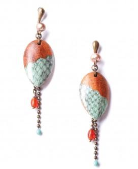 Boucles d'oreilles Mangrove
