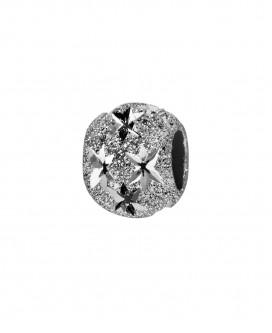 Charm Diamanté Motif Etoile Ajourée