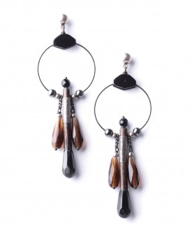 Boucles d'oreilles Bageera