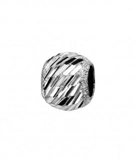 Charm Diamanté Ciselé Biais
