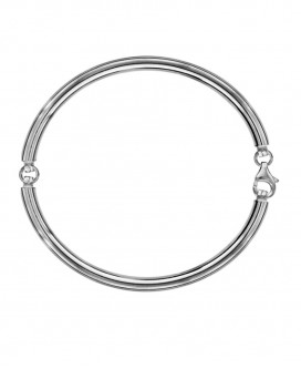 Bracelet Rigide pour Charm 4mm , Diamètre de 62mm