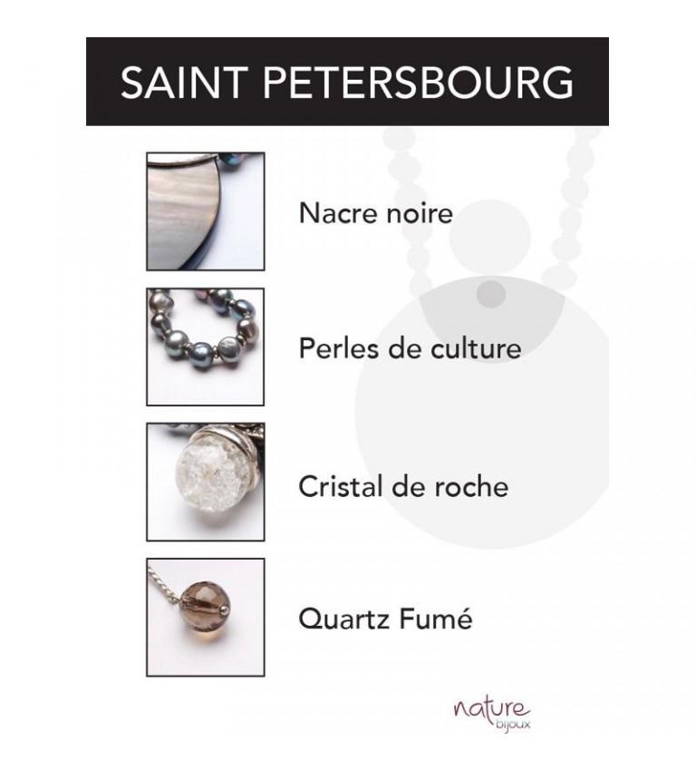 Boucles d'oreilles Saint Petersbourg