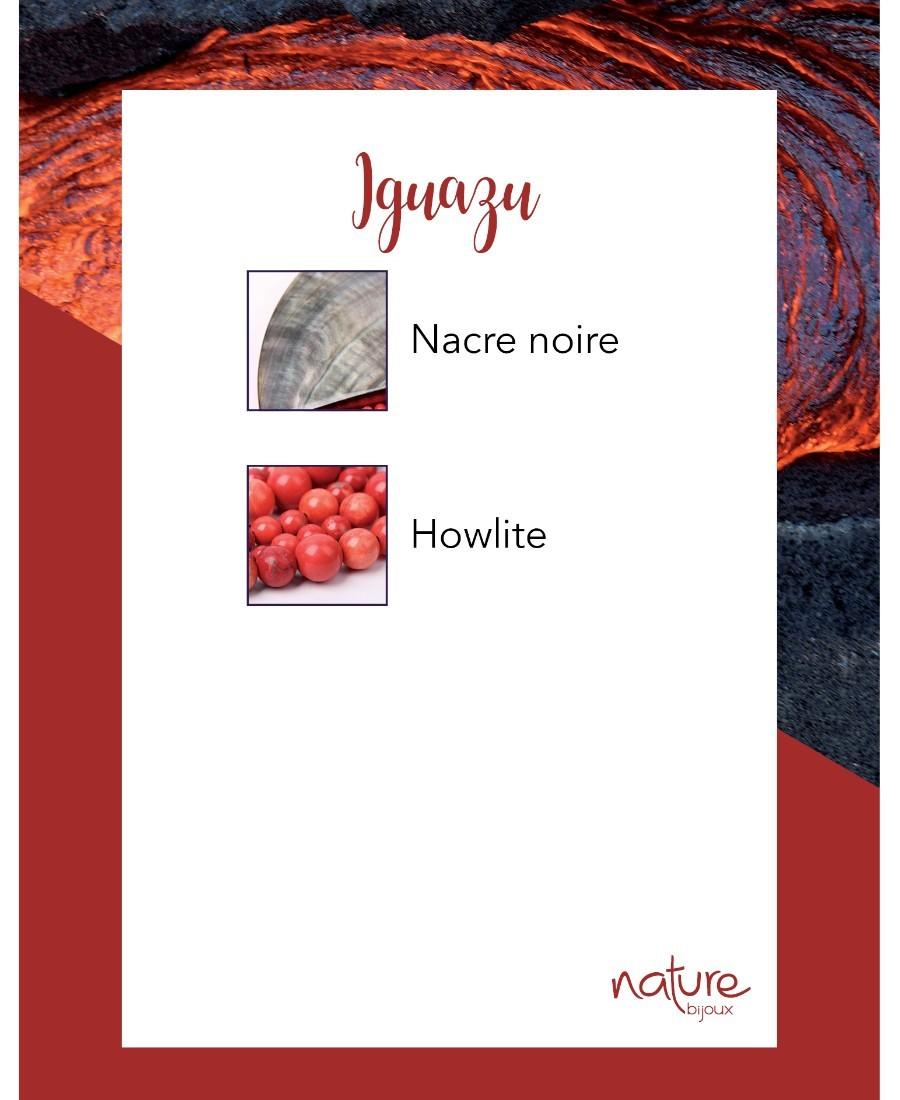 Boucles d'Oreilles Iguazu
