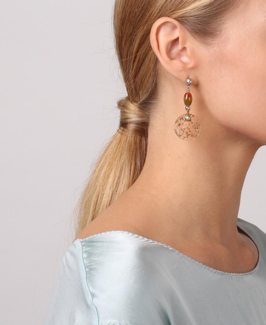 Boucles d'oreilles Botaniste
