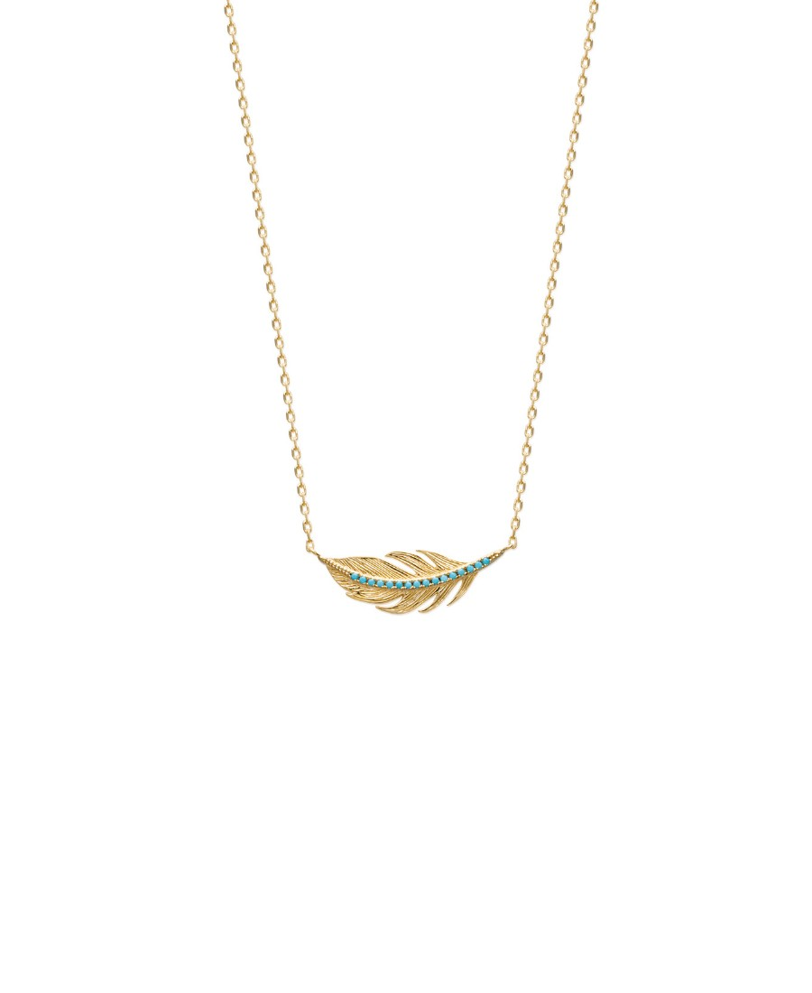 Collier Hermione Bleu Turquoise