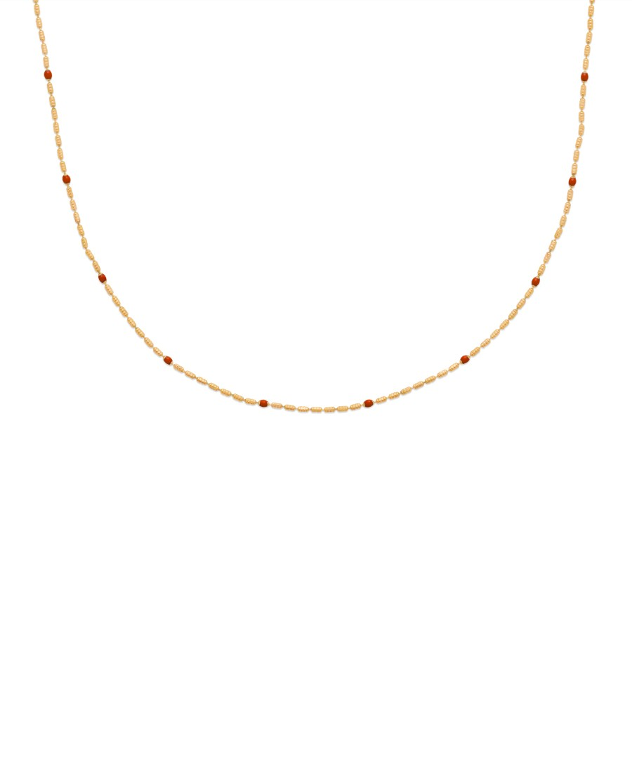 Collier Annabelle Rouge