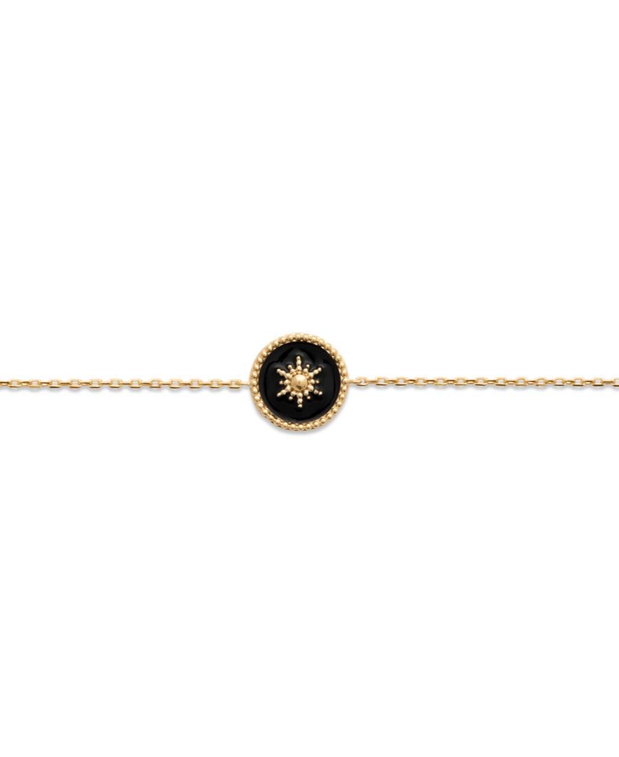 Bracelet Romane Noir