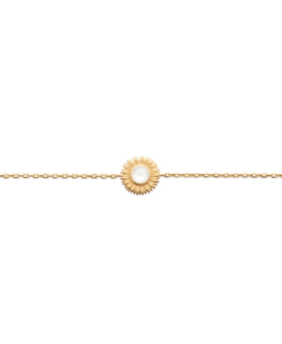 Bracelet Fleur Pierre de Lune