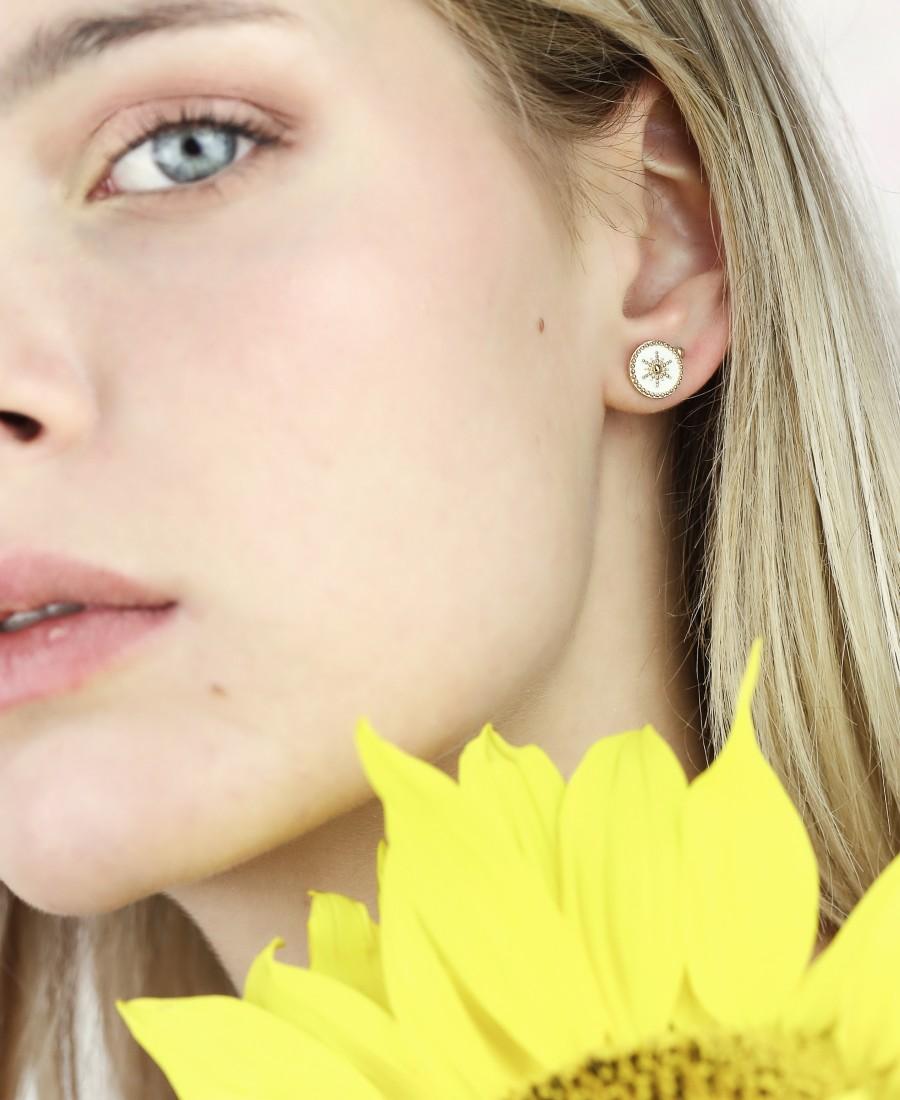 Boucles d'oreilles Romane
