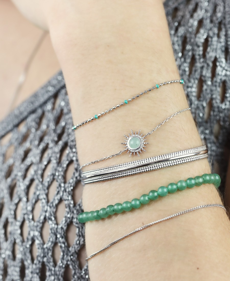 Bracelet Hélios Aventurine
