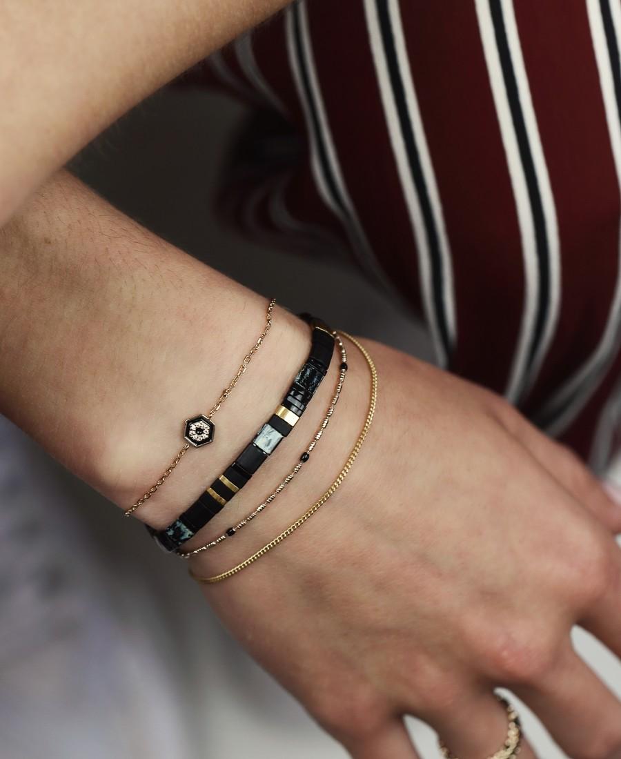 Bracelet Annabelle Noir