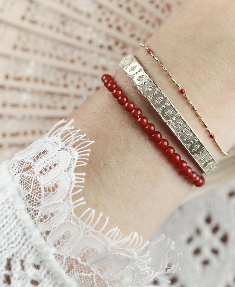 Bracelet Annabelle Rouge