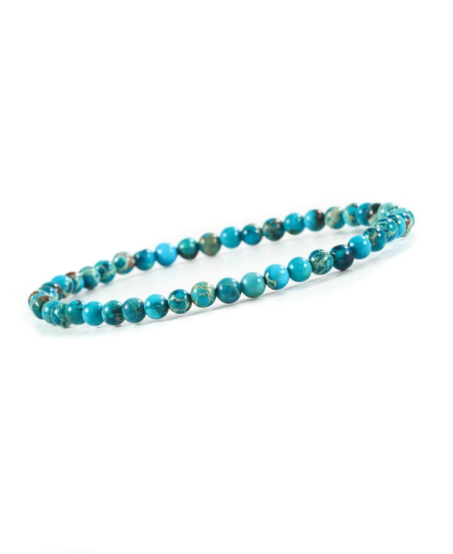 Bracelet Jaspe Impérial Turquoise