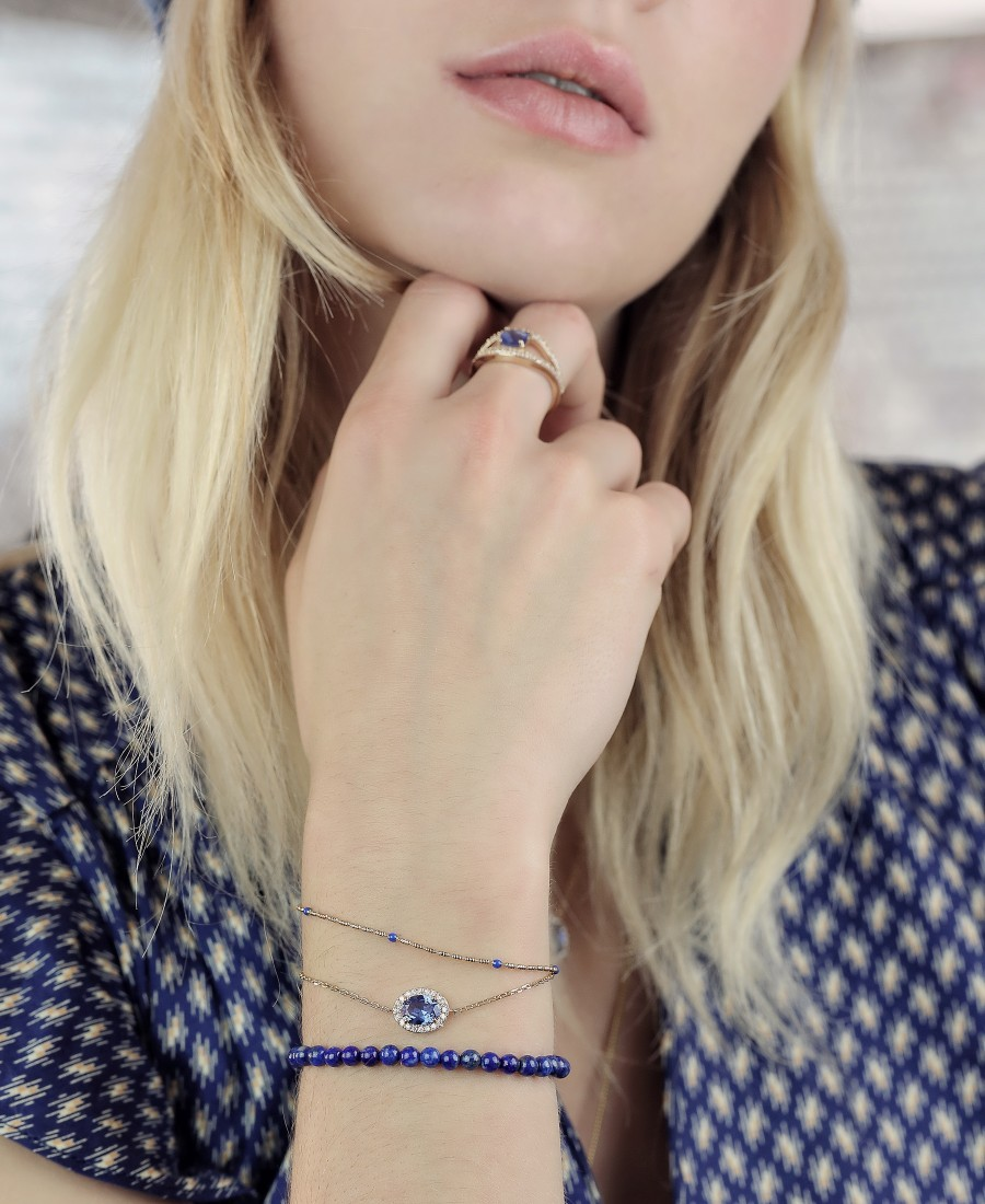 Bracelet Annabelle Bleu