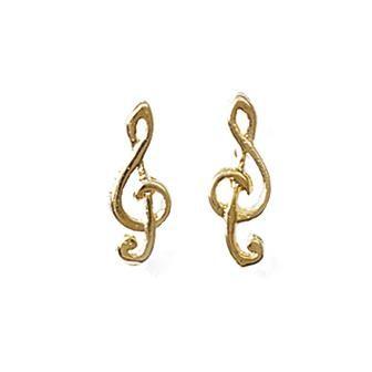 """Boucles d'oreilles """"Musique"""""""