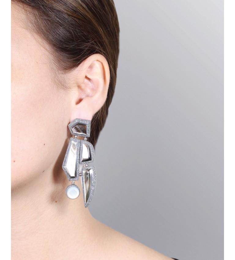 Boucles d'oreilles Madam Grey